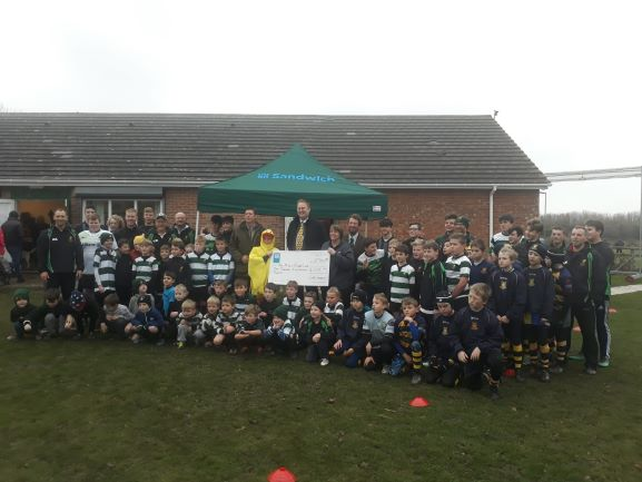 Co-op Sandwich Presentation to Ash RFC Minis & Juniors - Ash Rugby Club Gallery