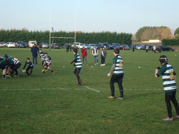 Ash U12s vs Whitstable - 20th January 2019 - Ash Rugby Club Gallery