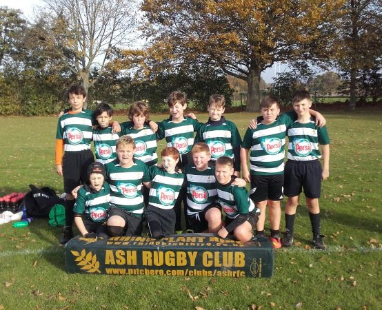 Ash U12s vs D+B and Dover - 4th November 2018 - Ash Rugby Club Gallery