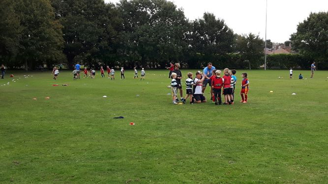 Minis Training - 16th September 2018 - Ash Rugby Club Gallery