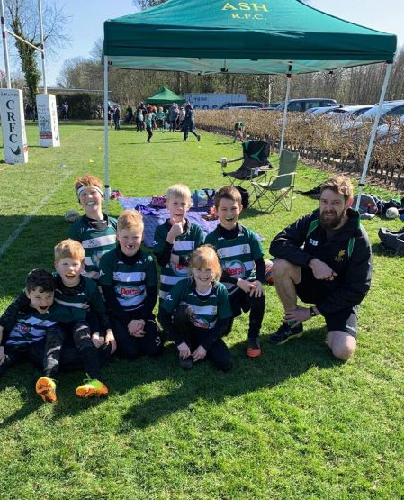 U10s - Ash Rugby Club Team